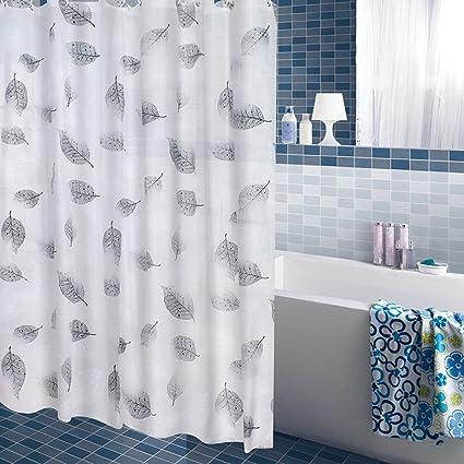 Hoja de baño europeo cortina impermeable engrosar y mildewproof ...