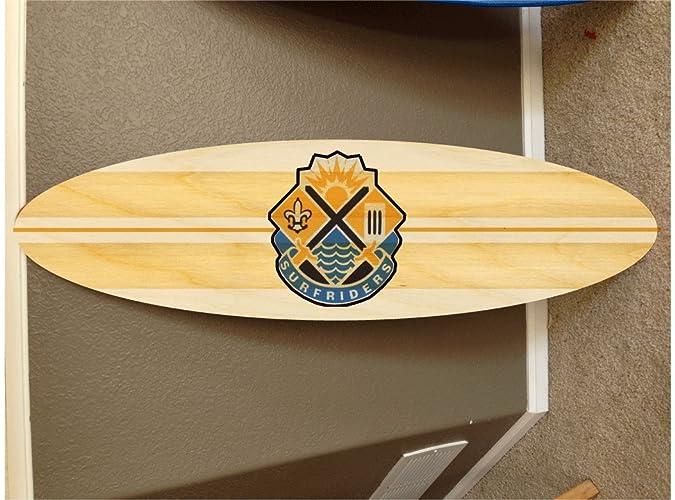 Amazon.com: wall hanging surf board surfboard decor hawaiian beach ...