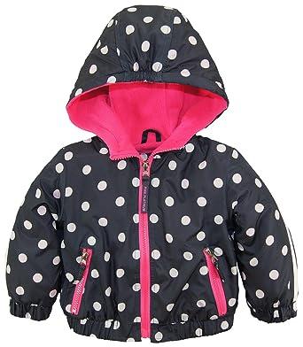 3766e5732 Amazon.com  Pink Platinum Baby Girls  Nb Polka Dot Active Jacket W ...