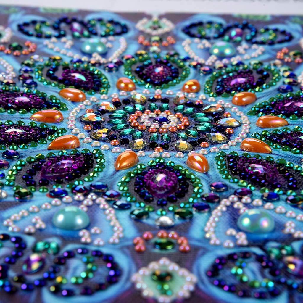 DIY 5d diamante Kit de Pintura,Sunnay Mandala 5D diamond painting Completo Full,Pinturas Diamantes Decoraci/ón,30X30cm