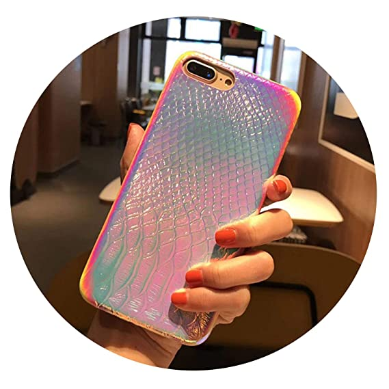 878cccc0c1 Colorful 3D Mermaid Fish Scale Soft Case for iPhone Xs Max XR X Silicone  TPU Protective