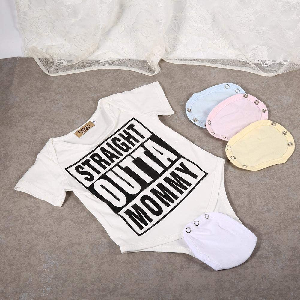 Prolunga per Neonato Tuta Estendere Schermo Pezzo di Allungamento del Divario Baby Suit Partner Baby Body Extender Universale Morbido Pagliaccetto Extender Patch per Ragazzi e Ragazze Light Blue