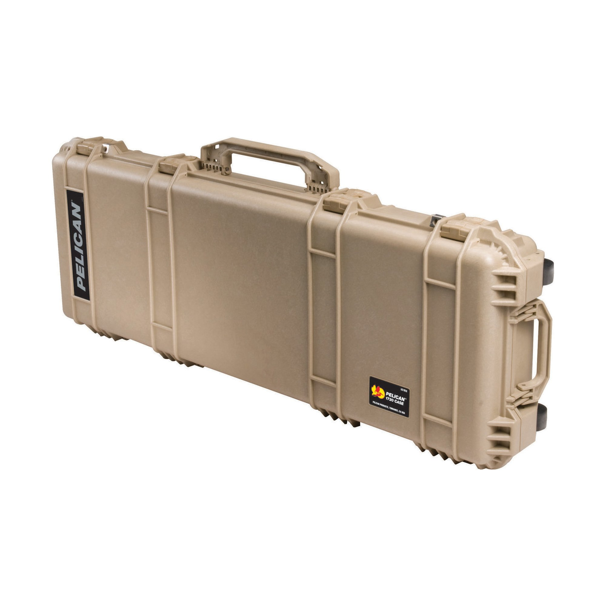 Pelican 1720 Rifle Case With Foam (Desert Tan) by Pelican