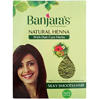 Buy Banjara S Natural Henna With Hair Care Herbs 100g Pack Online