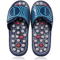 BYRIVER Acupressure Foot Massage Slippers Shoes Sandals Reflexology Massager Relive Arthritis Back Pain, Christmas Gift for Mum Dad(05L)