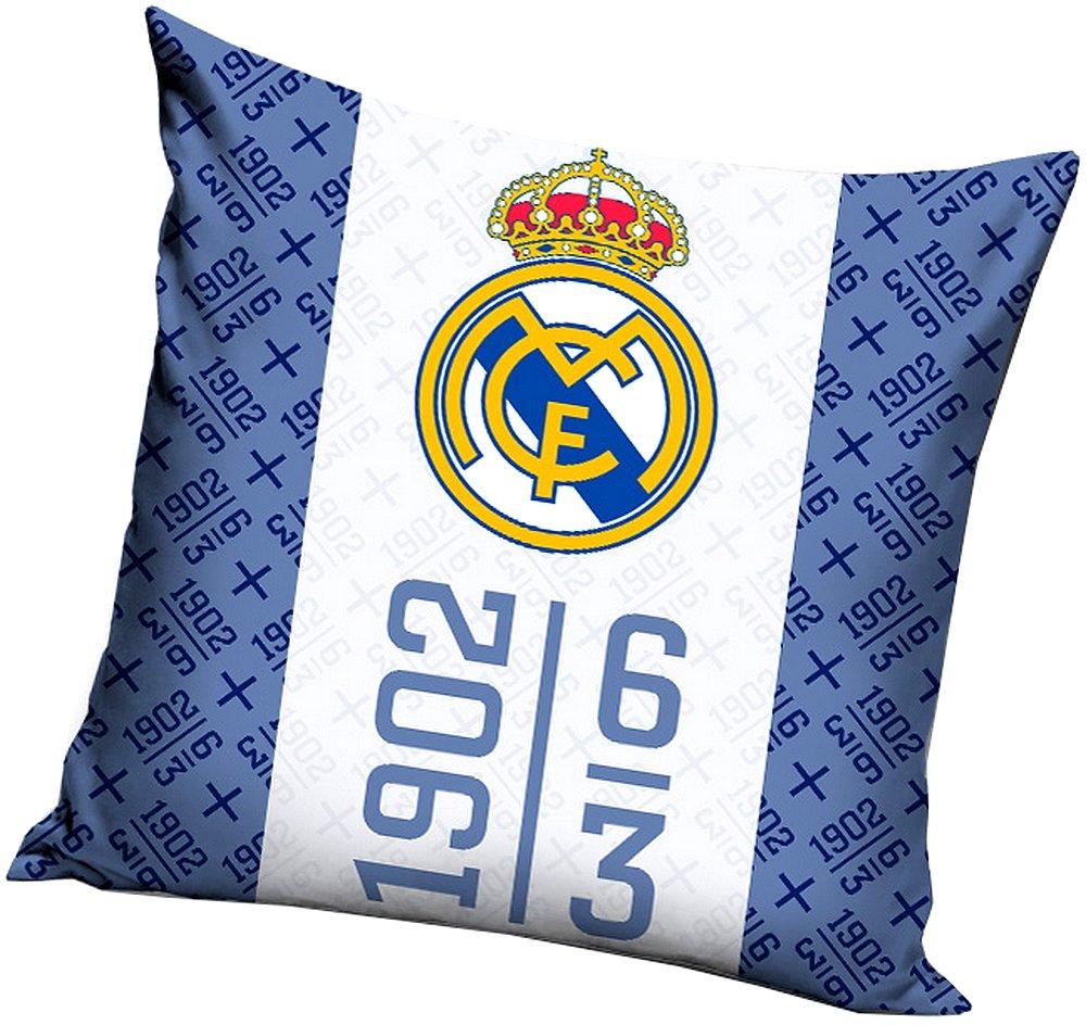 Real Madrid - Cojín con cremallera, 100% algodón, art. 0394 ...