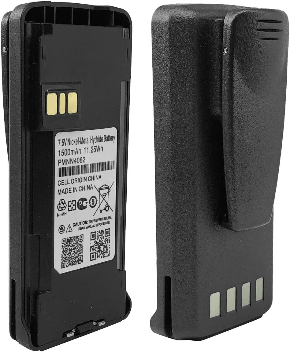 PMNN4082 Walkie Talkie Battery for Motorola CP185,EP350,P185,CP1600,CP477,CP476 Portable Radios: Home Audio & Theater