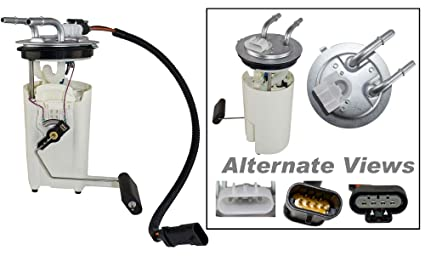 apdty 15050444 fuel gas pump module sender sending unit assembly w/wiring  harness fits select
