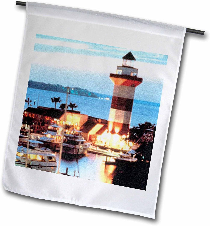 Harbor at Dusk Decorative Flag