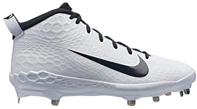 151d93473 Image Unavailable. Image not available for. Color  Nike Men s Force Zoom  Trout 5 Pro Metal Baseball Cleat White Black ...