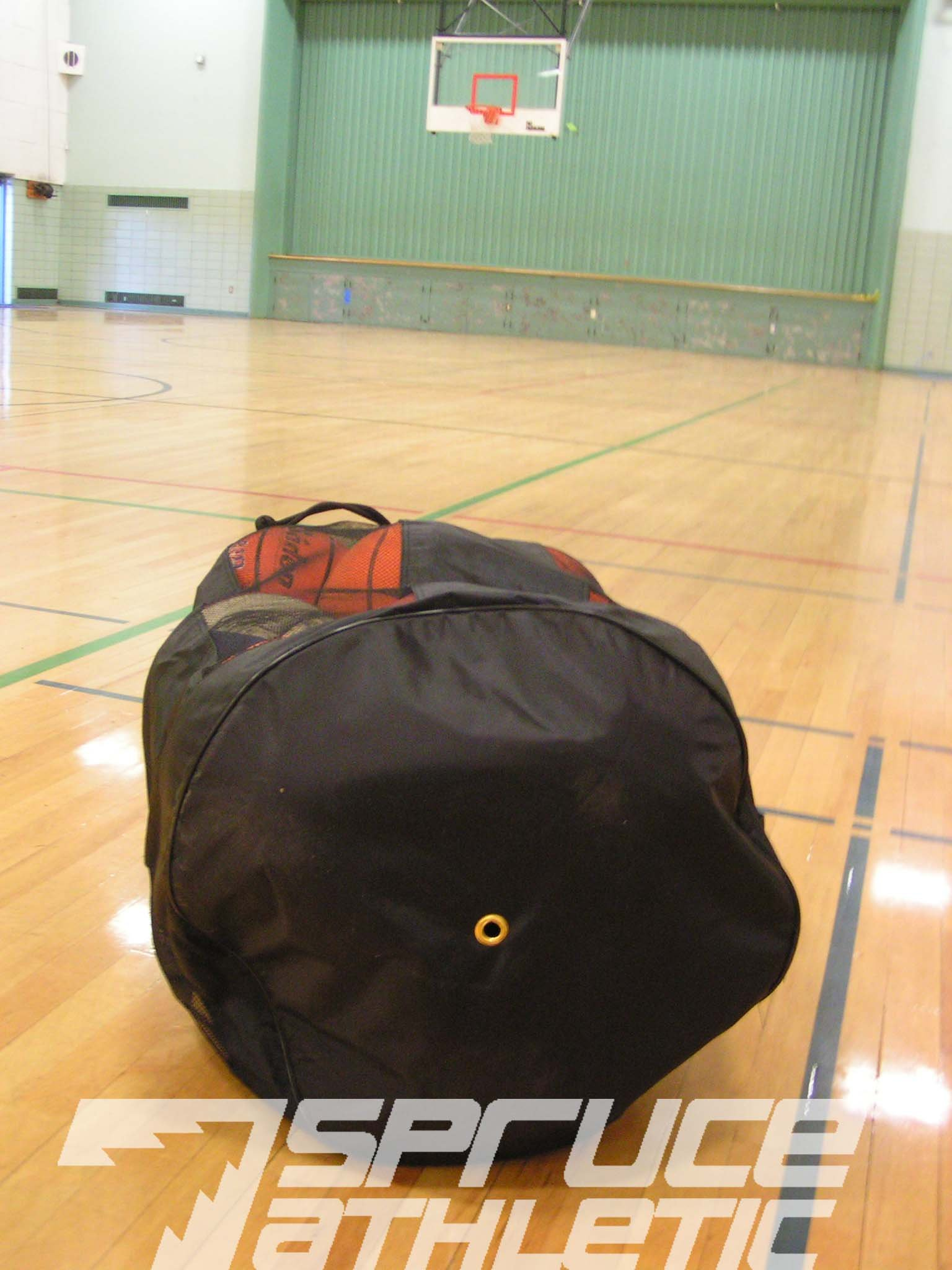 Spruce Athletic X-Large Heavy Duty Ball Bag (Holds 18 Soccer Balls or 15 Youth Basketballs) by Spruce Athletic (Image #5)