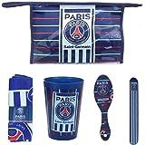 Kit Trousse de Toilette pour Enfant PSG Paris Saint Germain Officiel - P11700