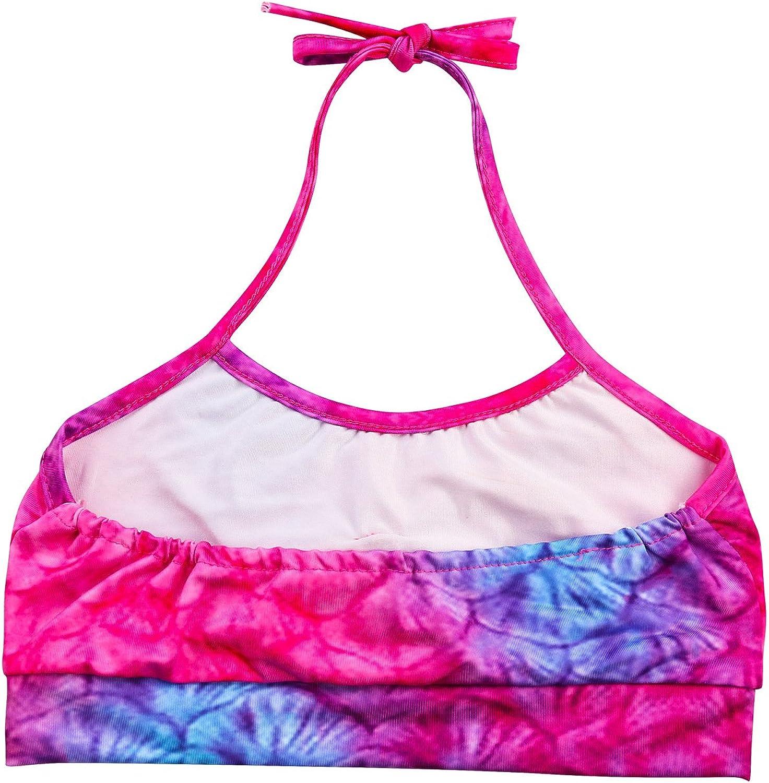 shepretty Traje de Ba/ño Sirena de Las Muchachas Bikini Set