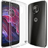 Moto X4 2017 Case,Love Ying [Crystal Clear] Ultra[Slim Thin][Anti-Scratches]Flexible TPU Gel Rubber Soft Skin Silicone Protective Case Cover for Motorola Moto X4 2017-Clear