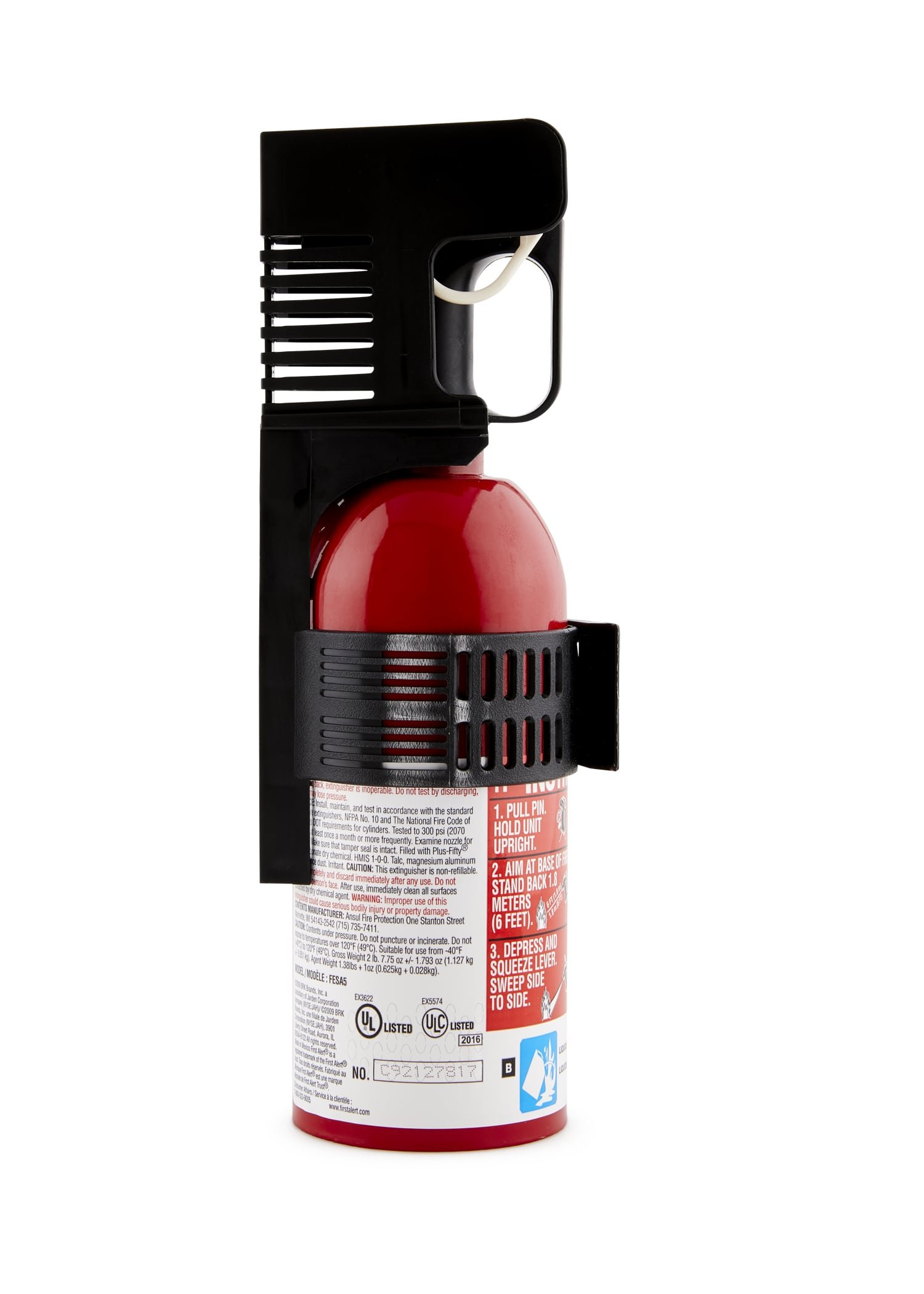 First Alert AUTO5 Auto Fire Extinguisher, Red by First Alert (Image #4)