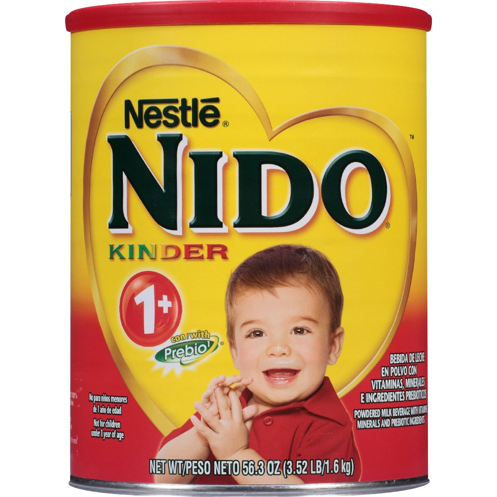 Nestle Nido Kinder 1+ Powdered Milk Beverage 3.52 lb. Canister