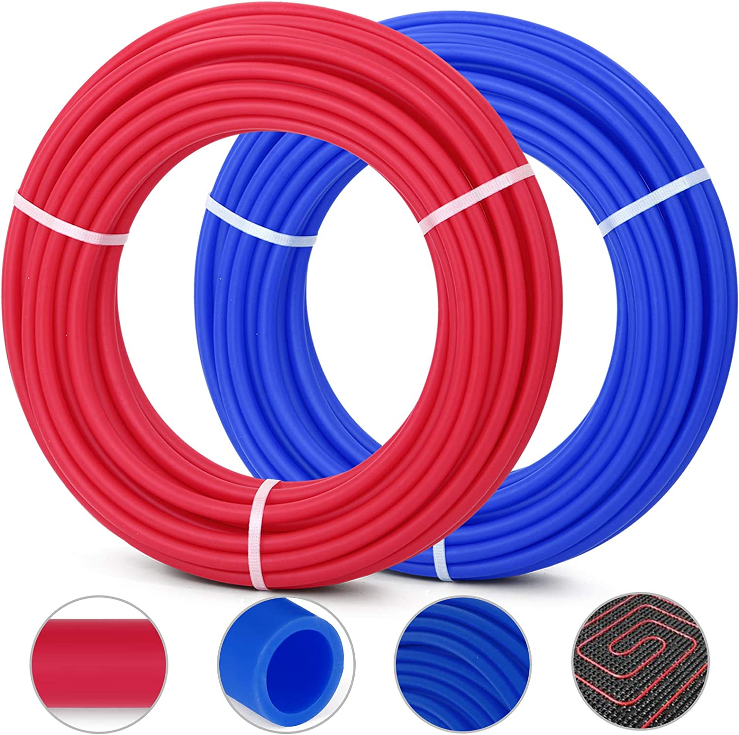 """1//2/"""" x 100ft PEX Tubing for Potable Water FREE SHIPPING"""