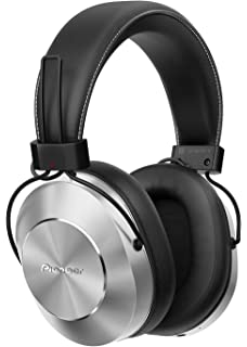 pioneer bluetooth headphones. pioneer se-ms7bt-s high resolution compatible dynamic sealed bluetooth headphone (silver) headphones a