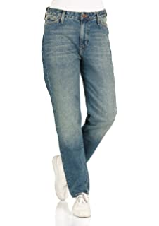 Lee Damen Jeans Mom - Straight Fit - Blau - Dusk Vintage ef9e19ad23