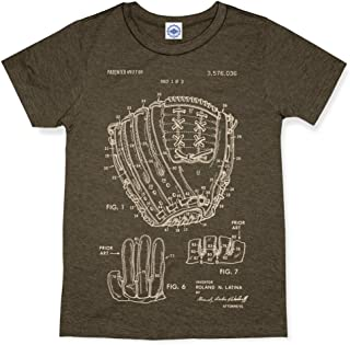 product image for Hank Player U.S.A. Baseball Glove Patent Men's T-Shirt