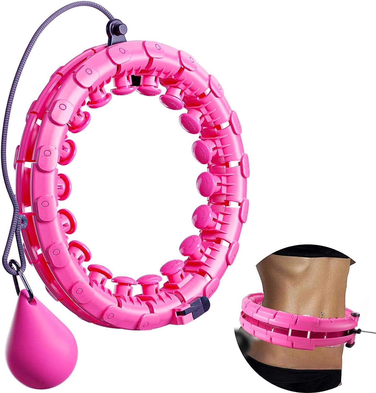 FeelGlad Namotu Huula Hoop, neumático ajustable con puntos de masaje para niños adultos principiantes con neumáticos de gimnasia para adelgazar, ...