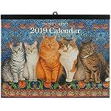 2019年カレンダー-アイボリーキャッツ