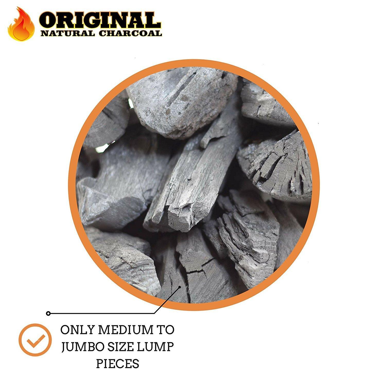amazon com original natural charcoal 100 natural hardwood