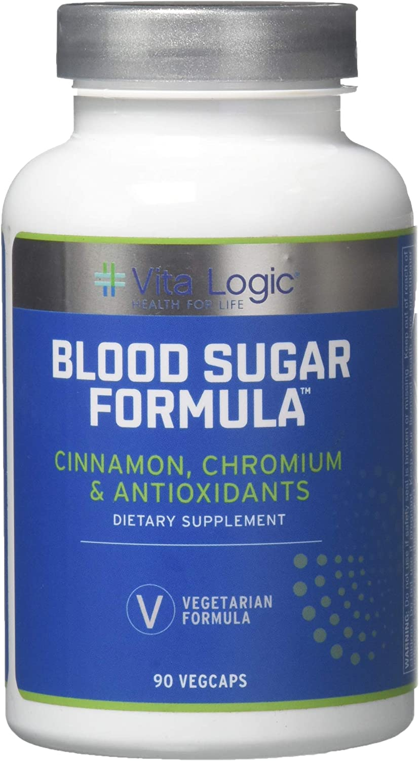 Vita Logic Blood Sugar Formula, 90 Count