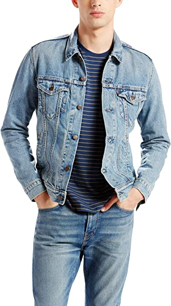 levi's herren jacke the trucker jacket icy