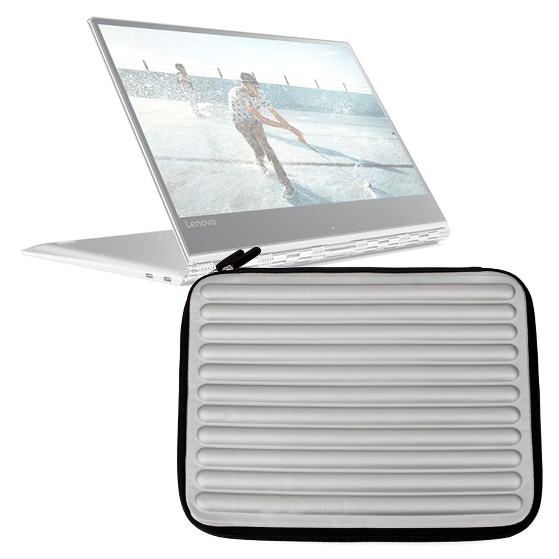 DURAGADGET Funda Gris con Espuma de Memoria Memory Foam para Portátil Lenovo Yoga 910 / ASUS ZenBook Flip UX360CA / UX310UA - ¡Protección Ideal!