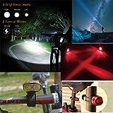 Kampeaburr 1800 Lumens Headlights and Taillights