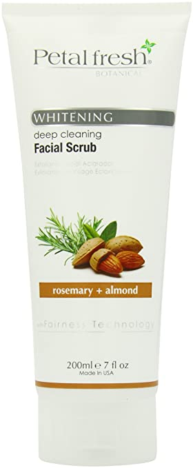 d1c15b72e5f Amazon.com: Bio Creative Lab Petal Fresh Botanicals Whitening and Facial  Scrub, Rosemary and Almond, 7 Ounce: Beauty