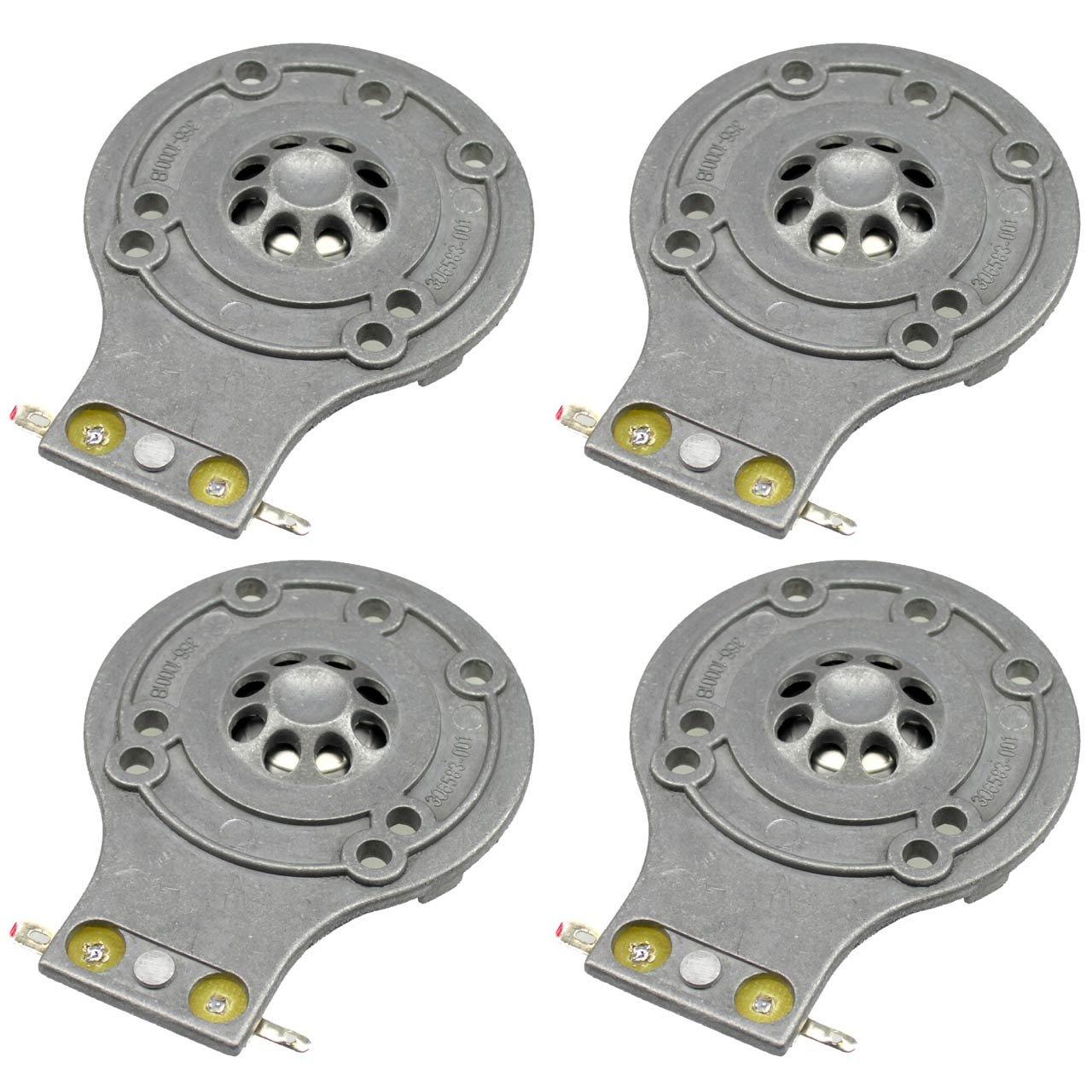 JBL Diaphragm 4 Pack for 2412H, 2412H-1, Soundfactor, MPro, MP215, MP225, EON15, EON10, JRX100, JRX112, JRX115 TR125, TR126, TR225, D-2412-4
