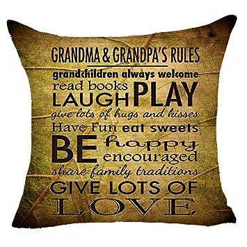 Amazon.com: Cita palabras abuela y abuelas reglas leer ...