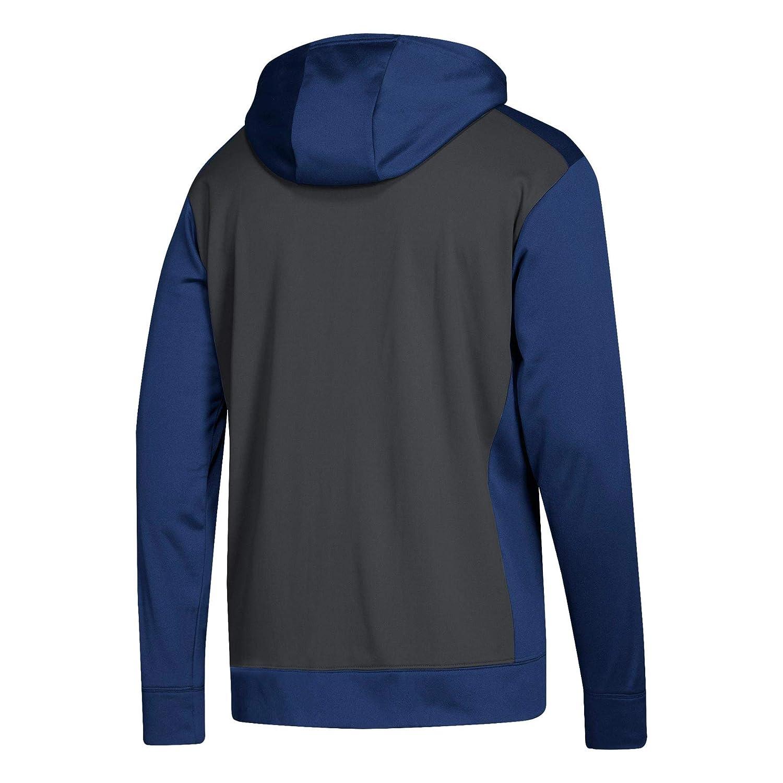 : adidas NHL Mens 2018 Fleece Full Zip Hoodie