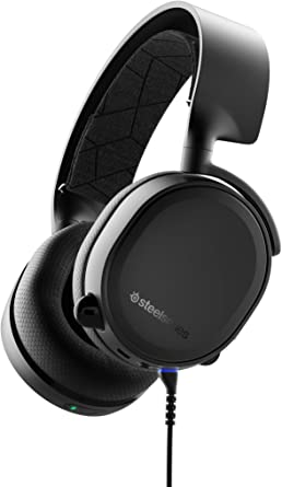 SteelSeries Arctis 3 Bluetooth, Wired and Wireless Gaming