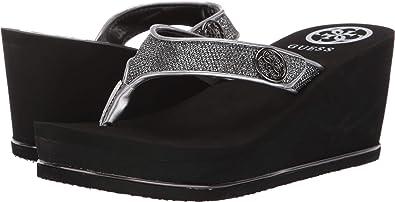 ce1c6929ec Amazon.com | GUESS Women's Sarraly | Sandals