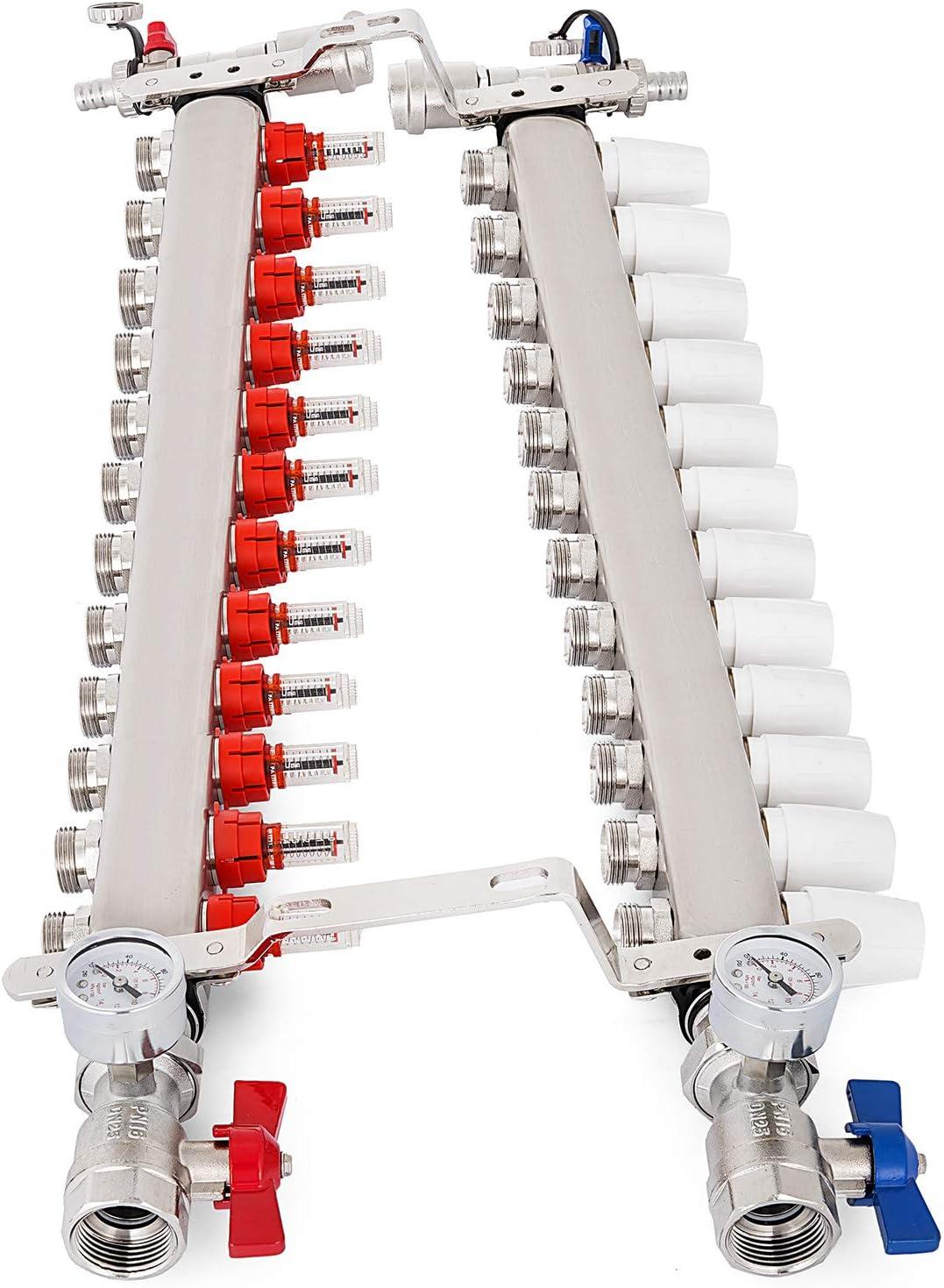 JBM 51306 Cliquet 72 Dents Articul/é Court de 1//4 dans Pr/ésentoir de 12 Unit/és 175mm Gris