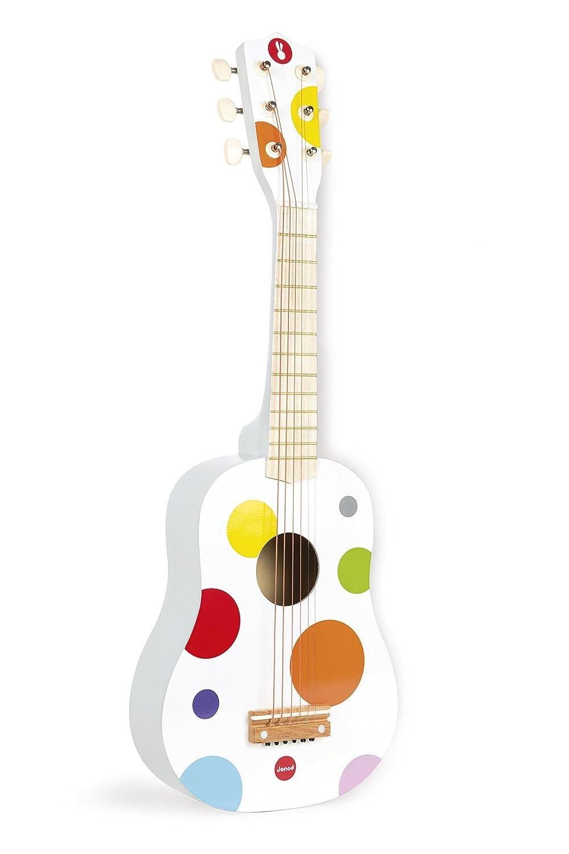 Janod J07598 - Konfetti Gitarre Musikspielwaren