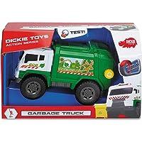 Dickie Toys Garbage Truck Try Me, 20 cm