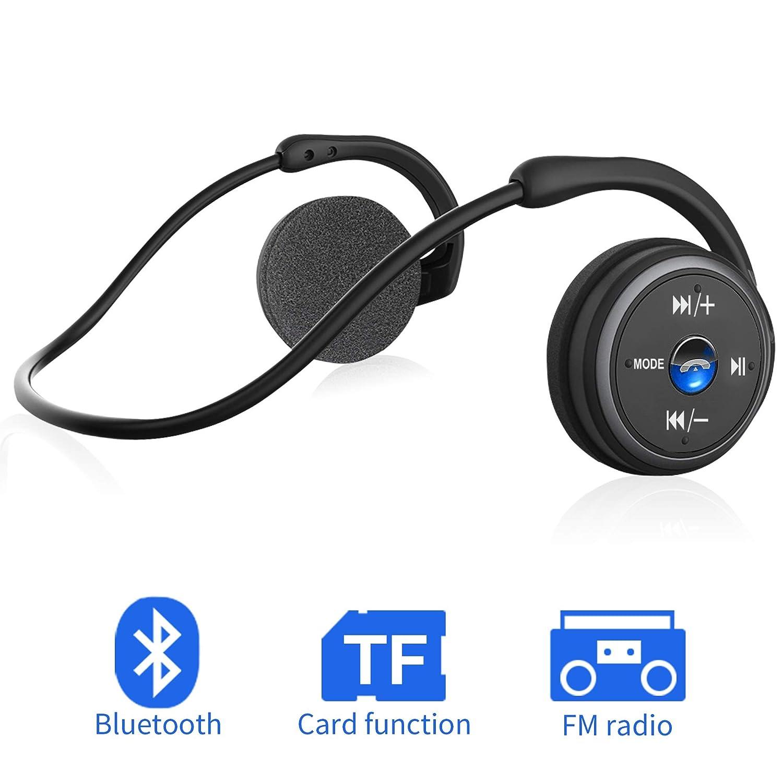 Auriculares Bluetooth 4.1, 3-en 1 Estéreo Auricular Deportivo ...