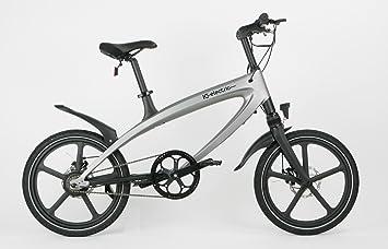 IC Electric Alfa Bicicleta Eléctrica, Plata, Talla Única: Amazon.es ...