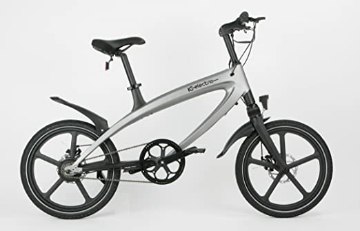 IC Electric Alfa Bicicleta Eléctrica, Plata, Talla Única: Amazon ...