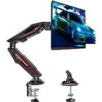 MOUNTUP Single Monitor Arm Desk Mount - Gaming Monitor Arm Mount, Adjustable Monitor Mount for 1 LCD Screen Up to 32…