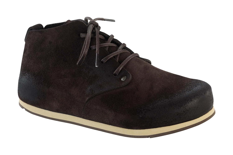 Birkenstock Dundee 692063 - Zapatos casual de ante unisex 38 R EU|moca