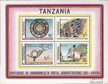 Prophila Collection Tanzania Bloque 25 (Completa.edición.) 1981 oficinas de Correos Commonwealth (Sellos para los coleccionistas): Amazon.es: Juguetes y juegos