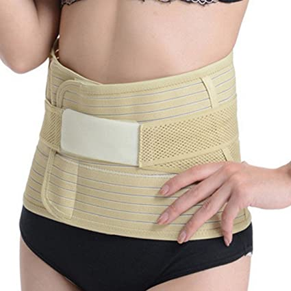 5230c89dea Unisex Adjustable Waist Trimmer Belt Stomach Body Wrap Protecting Stretchy  Stripe Back Lumbar Support Waistband Sweat