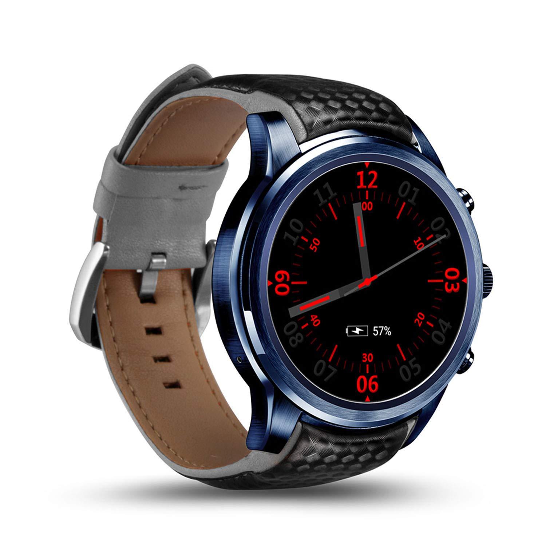 YUNDING Reloj Inteligente LEM5 Pro, Reloj Teléfono.: Amazon ...