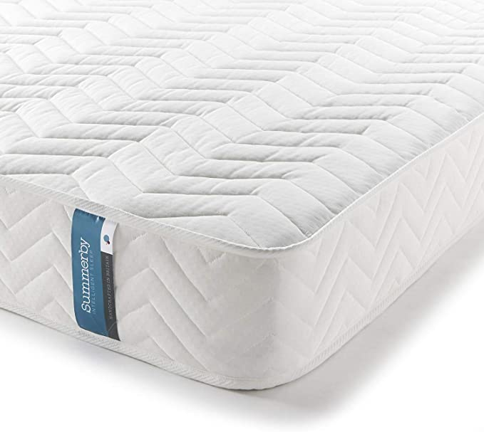 Summerby Sleep' No1. Coil Spring and Memory Foam Hybrid Mattress - Most Comfortable