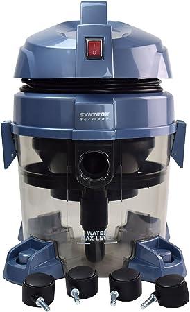 Syntrox Germany - WVC QMS-2400 W Okeanos Aspiradora con filtro de agua seco y húmedo para aspirador: Amazon.es: Bricolaje y herramientas